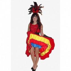 barová dáma  -  kankánové šaty