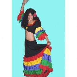 dámský kostým tanečnice z Ria