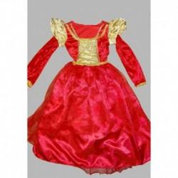 princezna  červená ,žlutá
