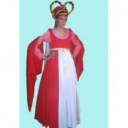 dobová  středověká  dáma