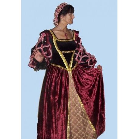 dobová  renesanční dáma