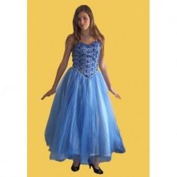 modré  šaty