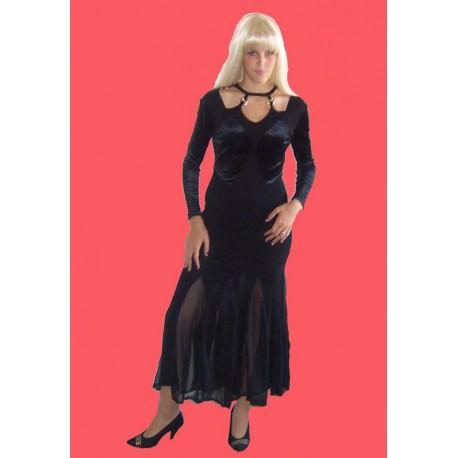 černé  společenské šaty