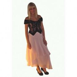 černé ,růžové  společenské šaty