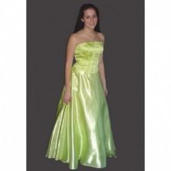žluté,zelené společenské šaty