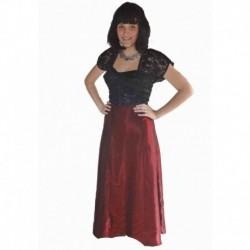 vínové, černé společenské šaty