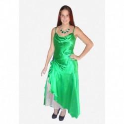 zelené  společenské šaty