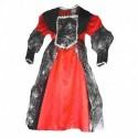 červené dětské šaty