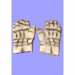 gumové rukavice  bílé