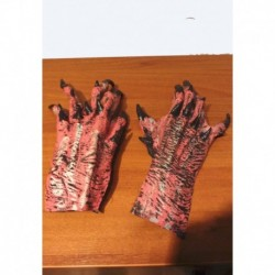gumové rukavice  růžové