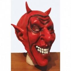 čert s úsměvem  g.maska  červená