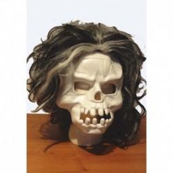 smrtka bílá - plastová maska