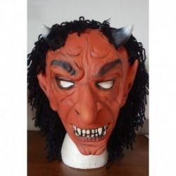 čert  - g. maska  červená