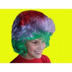 paruka - barevná -klaun