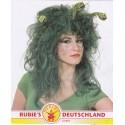 zelená  paruka - medůza