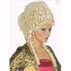 paruka - blond - účes