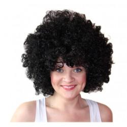paruka - černá - afro