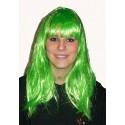 zelená  paruka