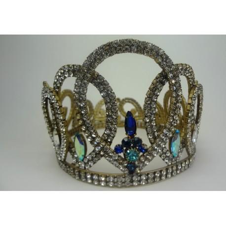 koruna na královnu  kovová