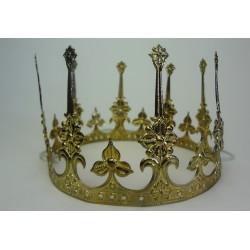 koruna na královnu  nebo krále kovová