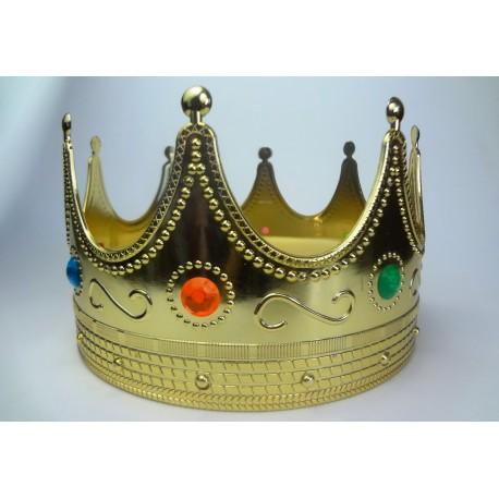 koruna pro krále plastová