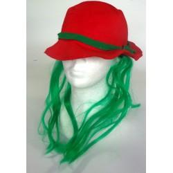 vodnický klobouk červený