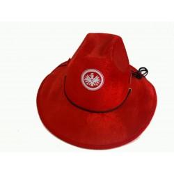 kovbojský klobouk červený