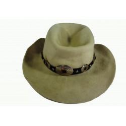 béžový kovbojský klobouk
