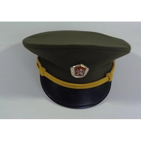vojenská čepice ČSLA