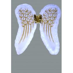 křídla bílo  zlatá