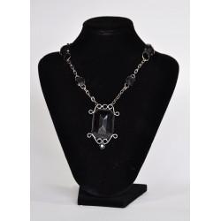 náhrdelník  -  černý