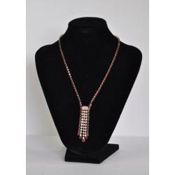 náhrdelník červený