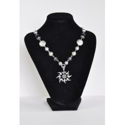 náhrdelník  -  stříbrný