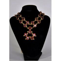 náhrdelník  -  červený