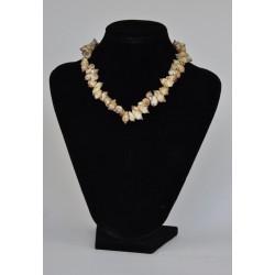 náhrdelník z mušliček