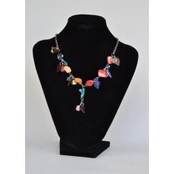 náhrdelník jak z barevných kamínků