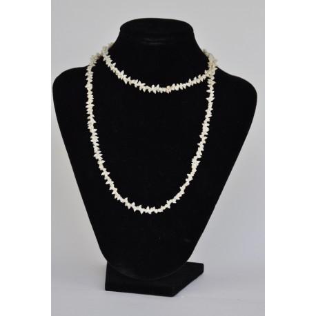 náhrdelník  s mušličkama