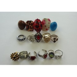 prsteny - různé