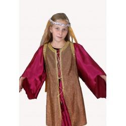 šaty na středověkou princeznu