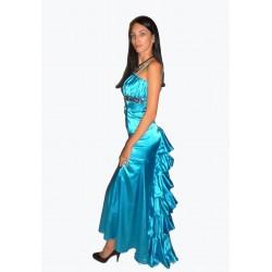 ples šaty modré