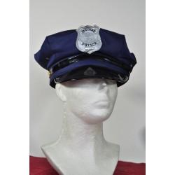 čepice na policajta