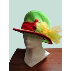 zelený klobouk