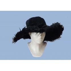 klobouk černý