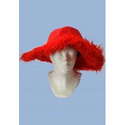 klobouk červený