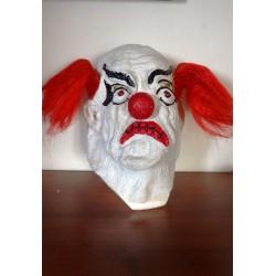gumová maska  klaun