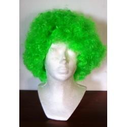 paruka zelená kudrnatá