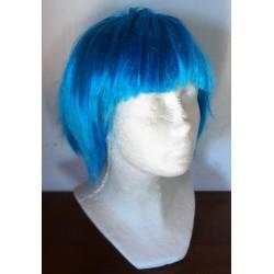 paruka modrá rovná