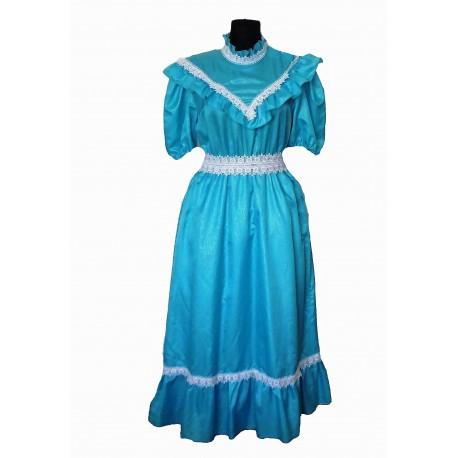 modré šaty  Alenka