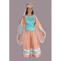 středověká paní - královna