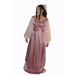 růžové šaty - Popelka